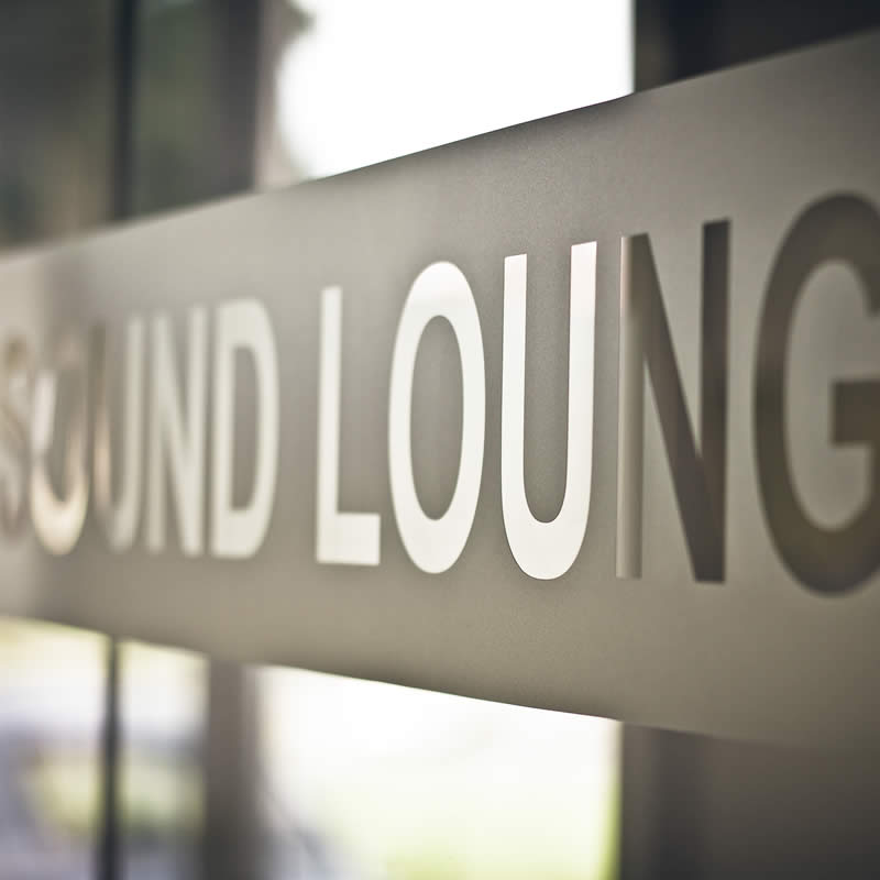 Europe's First Cutting Edge 'Sound Lounge'